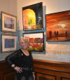 Gail Ingis at Exhibit
